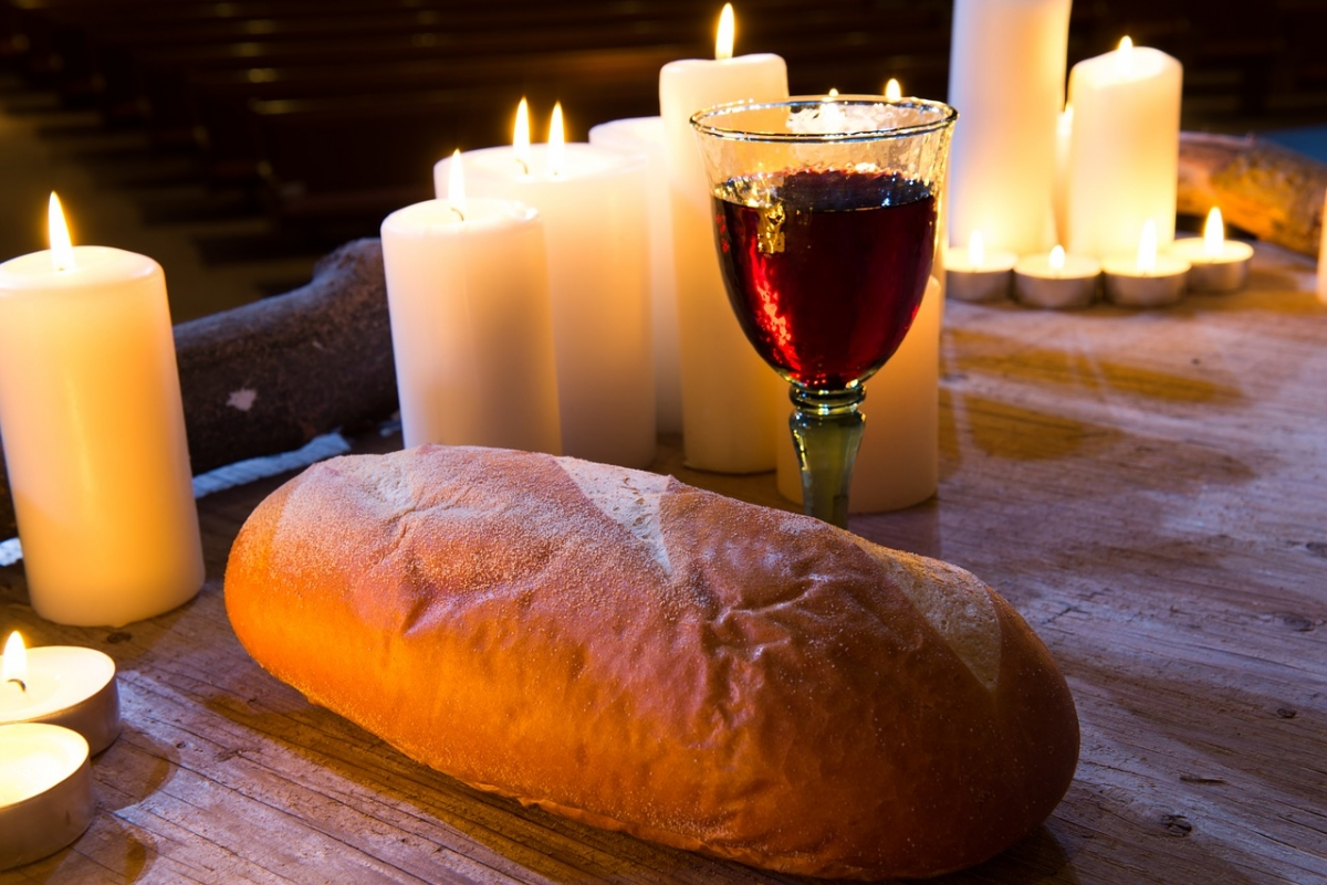 Clapping At Communion How Bread And Wine Became Symbols Of Hope