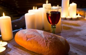 Clapping at communion: How bread and wine became symbols of hope