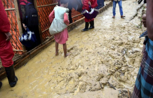 Tearfund scales up support for Rohingya refugees as monsoon rains bring fresh misery