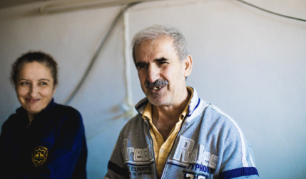 How could this blind Iraqi refugee memorise 87 chapters of the Bible?