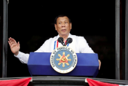 'God is stupid' jibe hits Philippines president's ratings