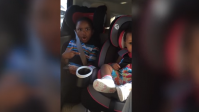 Little boy hits the roof when mom tells him she's pregnant again