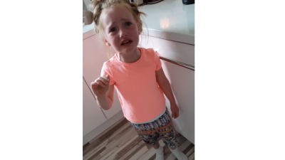 Little girl is devastated to learn she's not invited to Harry and Meghan's wedding