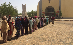 Prayers for peace in Nigeria ahead of general elections