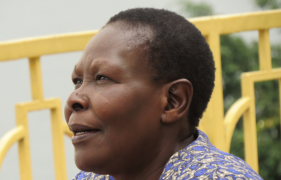 Evelyn's story: 'Peace in South Sudan has to start at home'