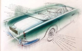 Petrol-head priest appointed as artist-in-residence to Aston Martin