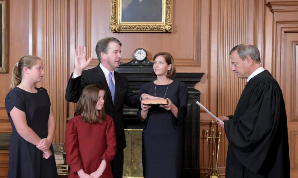 Witches are aiming to hex Brett Kavanaugh tomorrow. He'll be fine.