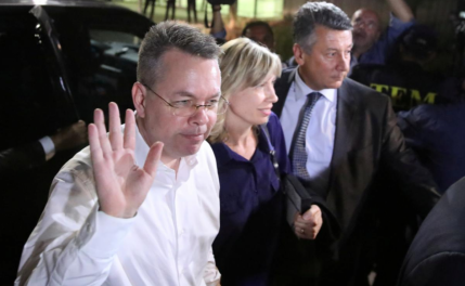 Freed American pastor Andrew Brunson prayed for hours to keep his sanity while in prison