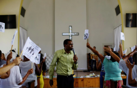 In rare campaign for Cuba, churches advocate against gay marriage