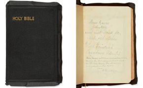 Bible inscribed by Einstein fails to find a buyer at auction
