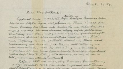 Albert Einstein's 'God letter' sells at auction for $2.9m