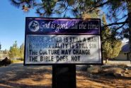Pastor steps down over 'Bruce Jenner is still a man' church sign
