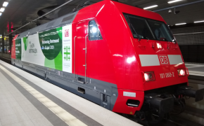 Eco-friendly locomotive will be 'rolling ambassador' for German Protestant festival