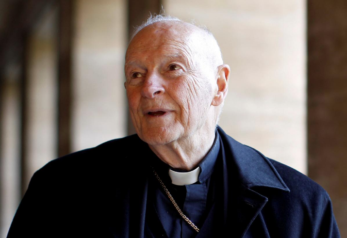 Even after being defrocked, Theodore McCarrick will continue