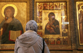 How a Moscow monastery that saw Soviet-era martyrdoms has become a place of prayer again