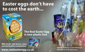 Christian Easter egg goes plastic-free as bishop calls for a packaging 'revolution'
