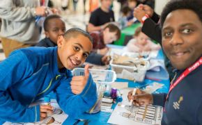 St Paul's Cathedral gets messy for children's outreach