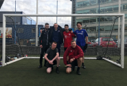 Salvation Army football team gets a warm welcome at Ipswich Town Football Club