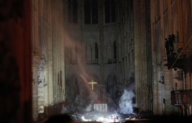 After the fire, Paris is a city in grief but also in worship and praise