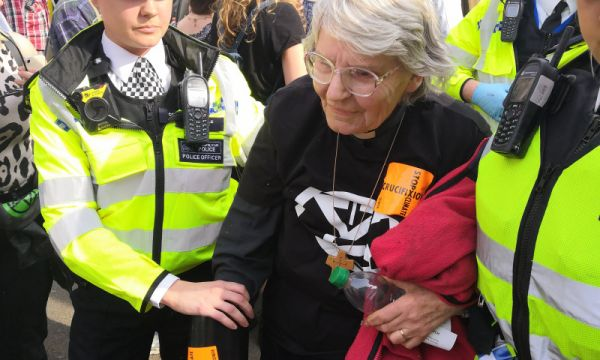 Christian climate change campaigner among activists arrested during Extinction Rebellion in London