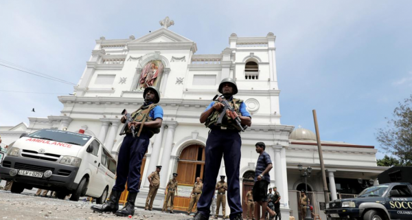 At least 200 dead after attacks on Sri Lanka churches during Easter services
