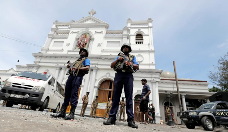 Sri Lanka church attacks
