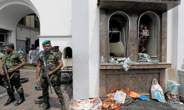 Easter attacks on Christians are 'particularly wicked', says foreign secretary after Sri Lanka bombings