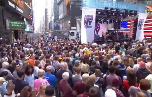 'Fatherhood begins in the womb:' pro-life rally delivers powerful message from New York's Times Square
