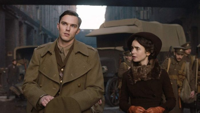 Nicholas Hoult, Lily Collins, Tolkien movie