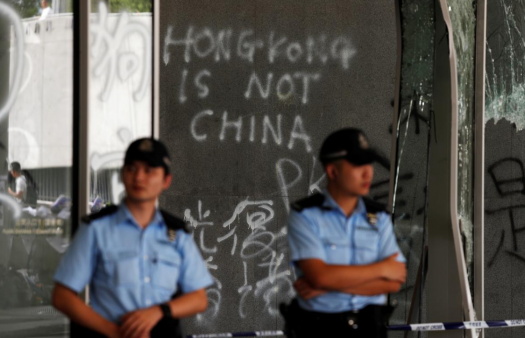 'We fear Hong Kong will become just another Chinese city'