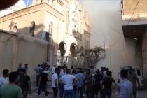 11 killed in bombing outside church in north-east Syria