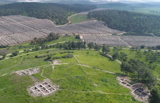 Archaeologists think they have found the place where David sought refuge from King Saul
