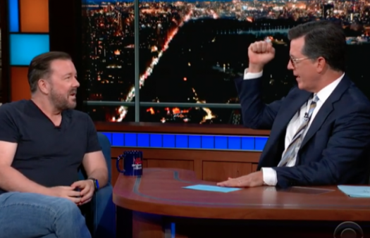 'I have no problem with faith or spirituality,' says atheist comedian Ricky Gervais