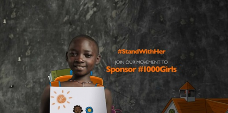 1000 girls campaign