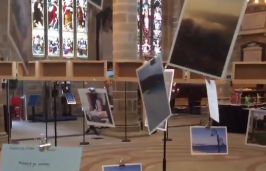 A picture tells a thousands words: Wakefield Cathedral photo installation spotlights special journeys
