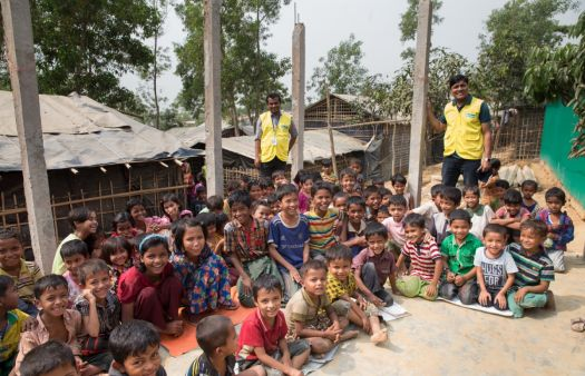 Boredom is a struggle for Rohingya children missing out on vital education in refugee camps