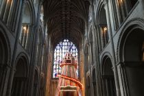 These cathedrals aren't crazy: a golf course and helter skelter is exactly what the Church should be doing