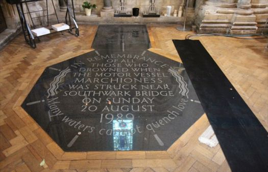 30th anniversary of Marchioness disaster commemorated in Southwark Cathedral