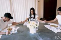 Kardashian asks pastors Chad and Julia Veach how to share faith with her kids