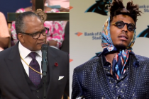 Pastor rebukes NFL quarterback Cam Newton for being 'dressed like a woman'