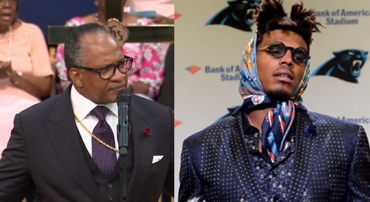 Bishop Patrick Wooden, Cam Newton