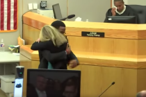 An astonishing courtroom hug and what it teaches us about radical forgiveness