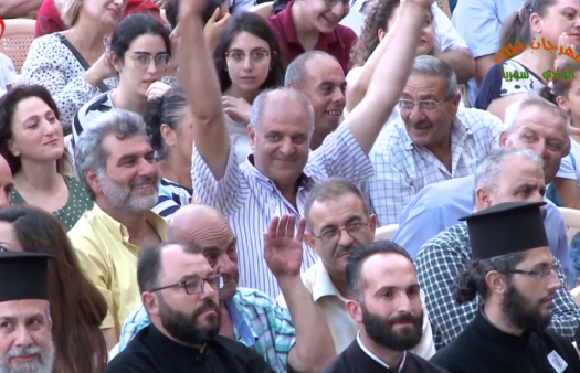 Syrian Christians hear call to be peacemakers