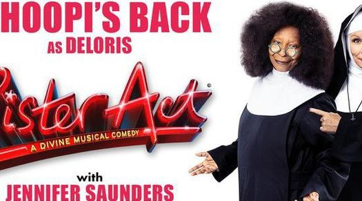Whoopi Goldberg to star in Sister Act The Musical