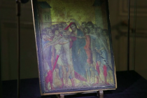 13th century of Jesus walking to the cross sells for $27m
