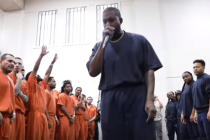 Kanye West performs 'Sunday Service' concert for Texas inmates ahead of Lakewood Church service (Video)