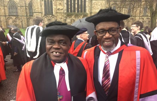 Archbishop of York awarded honorary Doctorate of Divinity by Durham University