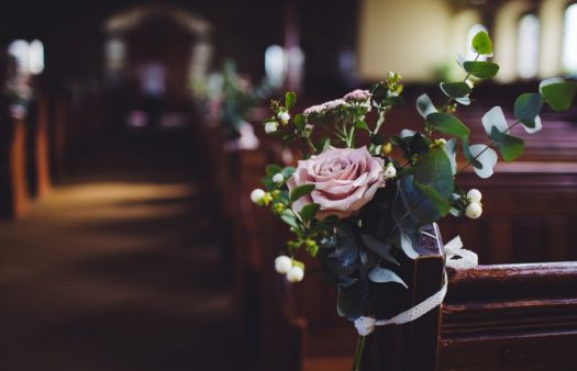 Church weddings will continue during coronavirus pandemic but with only five people present