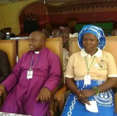 Bishop Idris Ado Zubairu with his wife Saratu