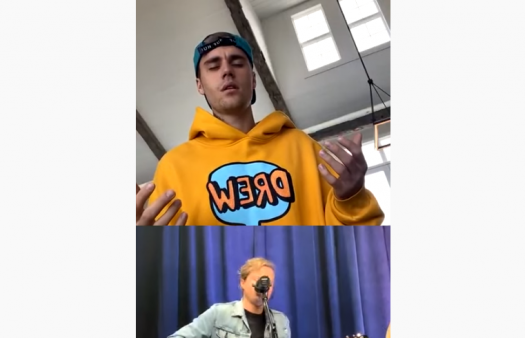 Justin Bieber broadcasts Sunday service to his 130 million Instagram followers